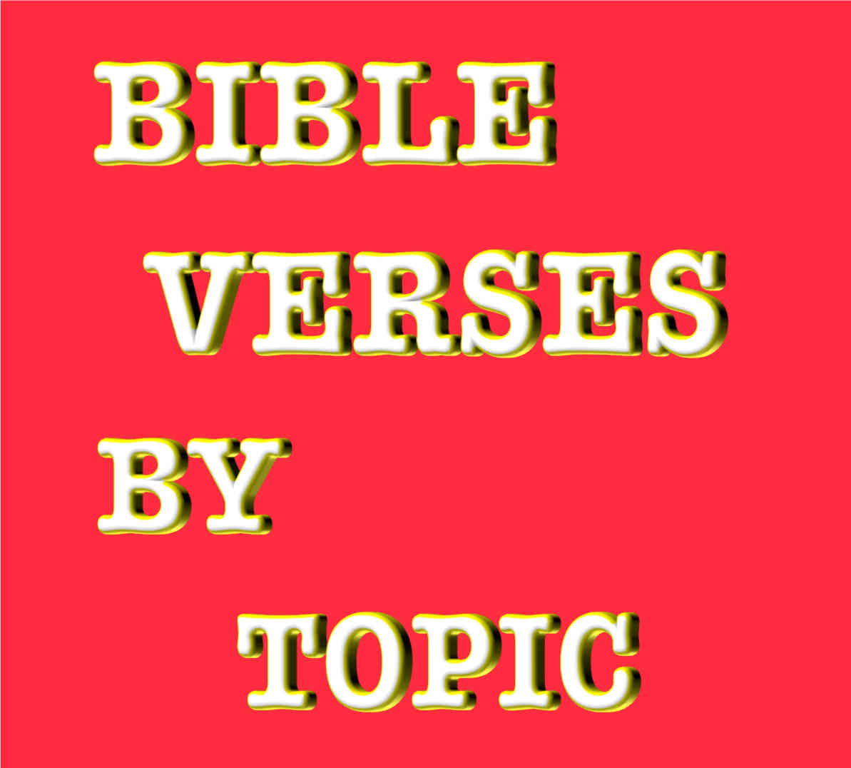 Bible verses by topic inspirational scriptures by subject bible verses by topic negle Images
