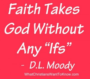 Faith Quote by D.L. Moody