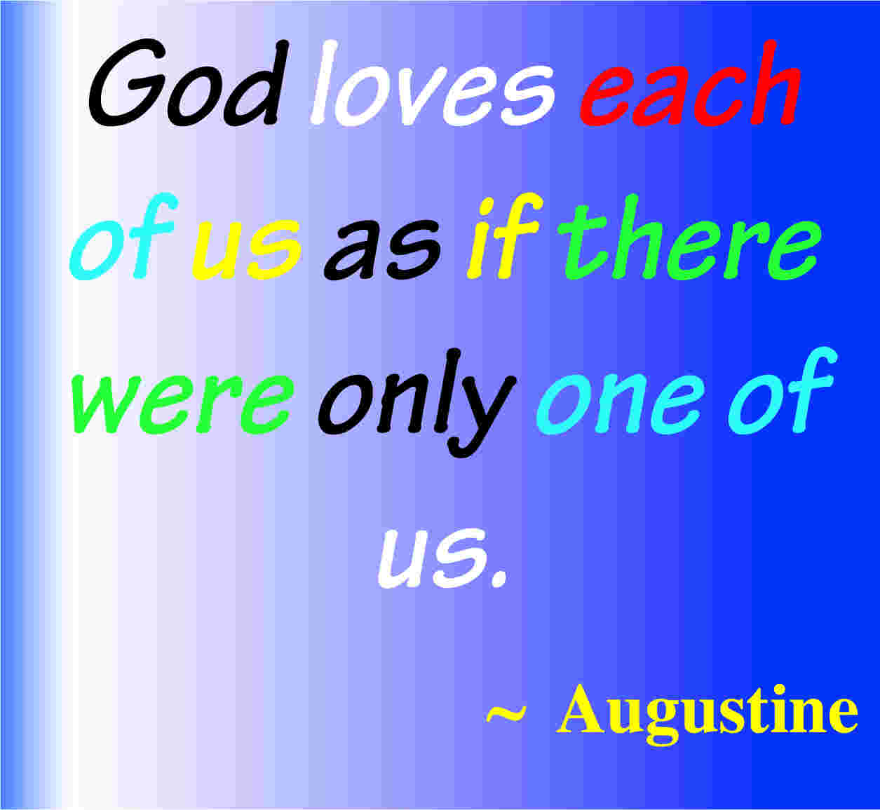 Christian Quotes About God s Love