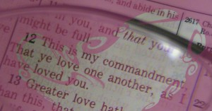 Love One Another Bible Verses and Application