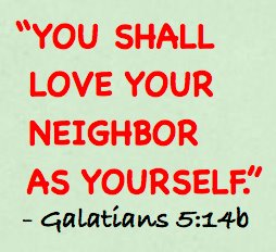 Beautiful Bible Verses That Show That Fellowship Shows Our Love Love Your Neighbor As  Yourself