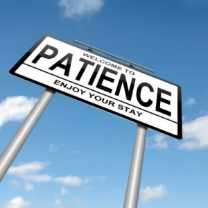 Will you be patient and wait on God, or be impatient and act on your own will?