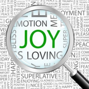 Not many people react to hardship and tragedy with joy.