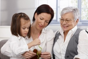 Your physical presence or touch ignites the bond between parent and child.