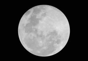I stated that the moon would be dark, pitch black in fact, if it were not for the sun.  The moon is beautiful only because the sun shines on it.