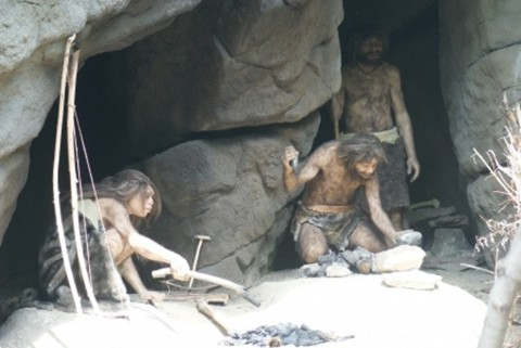 Old Caveman Show : What does the bible say about cavemen or stone age?