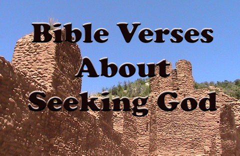Top 10 Bible Verses About Seeking God