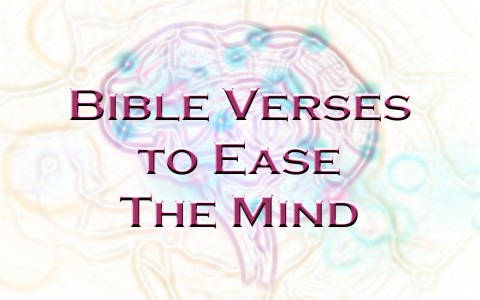 Bible Quotes For Strength Extraordinary 7 Bible Verses To Ease The Mind