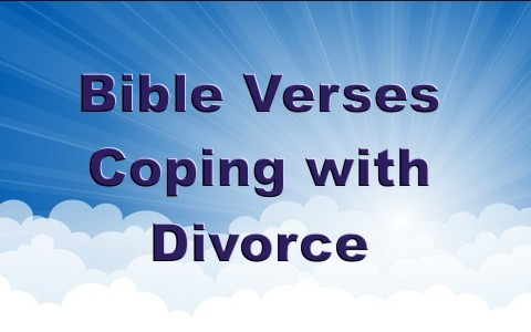 7 good bible verses to help cope with a divorce negle Images