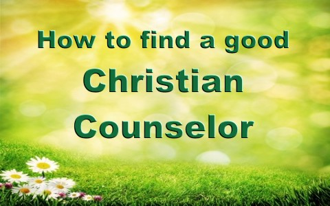 I want to find a good christian man