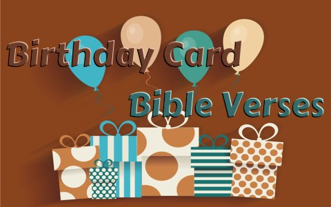 Good Bible Verses To Use On A Birthday Card or Note – 18th Birthday Card Verses