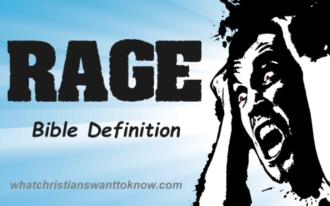 What Does The Bible Teach About Rage