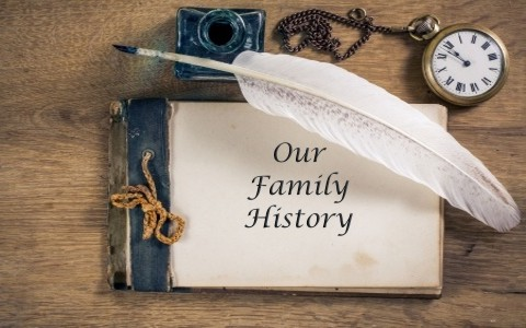 why your family should create your own history book